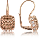 Forzieri Azhar Cubic zirconia and Sterling Silver Square Earrings