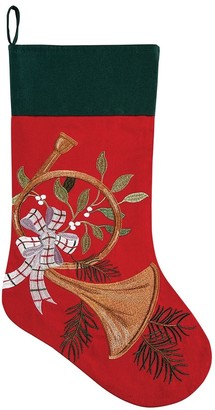C&F Home Holiday Horn Stocking