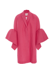 DELPOZO Coat with Frill Sleeves