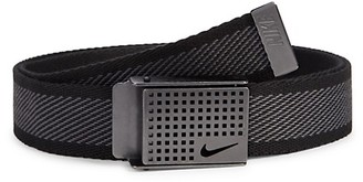 Nike Diagonal Web Cotton Belt