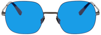 Mykita Blue Gold Momo Sunglasses