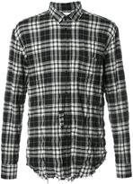 Saint Laurent signature oversized Yves collar shirt - men - Cotton/Polyurethane - 39