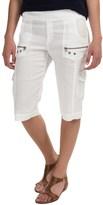 XCVI Bermuda Cargo Shorts (For Women)