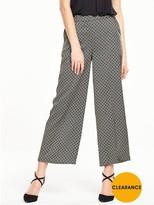 Very Jacquard Crop Trouser