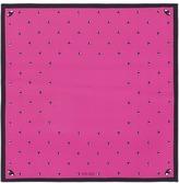 Kenzo Eye print silk twill scarf