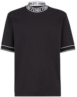 Fendi White cotton T-shirt