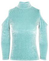 Glamorous petites **cold shoulder blouse
