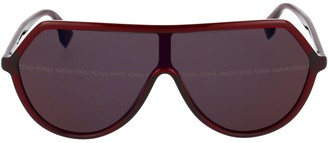 Fendi Aviator Oversized Sunglasses