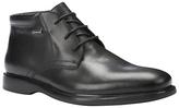 Geox Brayden Amphibiox Waterproof Leather Chukka Boots, Black