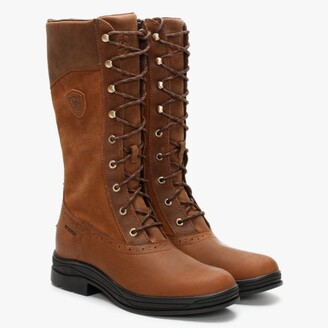 Ariat Wythburn H20 Tan Leather Calf Boots