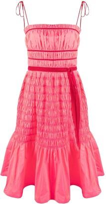 Molly Goddard Shirred Mini Dress