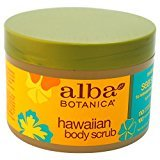 Alba Hawaiian, Sea Salt Body Scrub, 14.5 Ounce