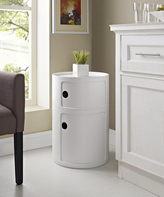 Modway White Orbit Storage Module