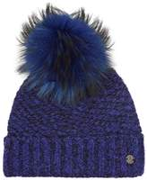 Spyder Idol Knitted Bobble Hat, Blue, One Size