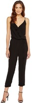 Michael Stars Modern Rayon Surplice Cropped Jumpsuit Women's Jumpsuit & Rompers One Piece