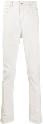 Rick Owens Low-Rise Slim-Fit Jeans