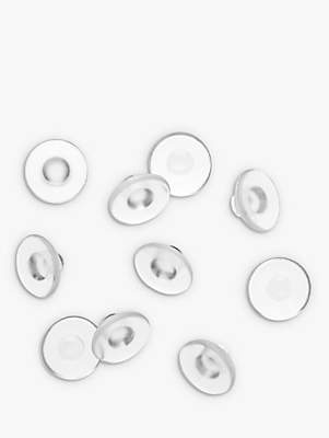clear Emma Holland Rubber Clip Earring Backs,
