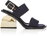 Marni Women's Notched-Heel Sandals-NAVY