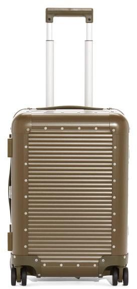FPM Milano X Nick Wooster Bank Spinner 53 Cabin Suitcase - Khaki