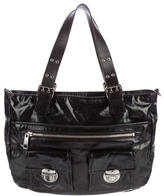 Marc Jacobs Leather-Trimmed Tote