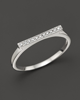 Sylvie Dana Rebecca Designs Diamond Rose Ring in 14K White Gold