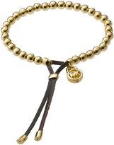 Michael Kors  Bead Stretch Bracelet, Golden
