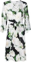 ADAM by Adam Lippes dahlia print midi dress