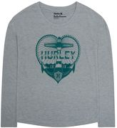 Hurley Girls 7-16 Long-Sleeve Anchor Graphic Tee