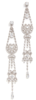 Kenneth Jay Lane Shoulder Sweep Earrings