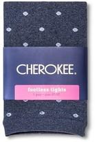 Cherokee Toddler Girls' Polka Dot Footless Tights Navy