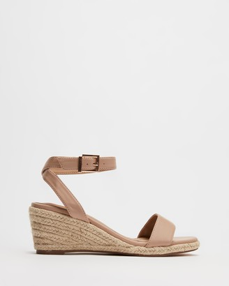 Spurr Women's Nude Heels - Iris Wedges - Size 6 at The Iconic