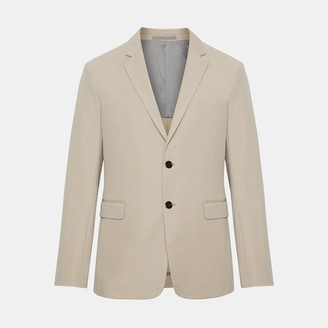 Theory Double Stretch Cotton Clinton Jacket