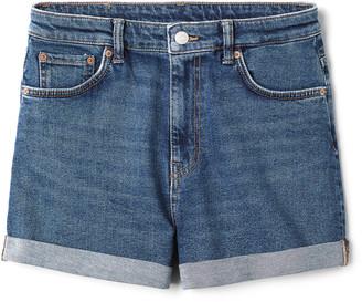 Weekday Newday Peralta Shorts - Blue