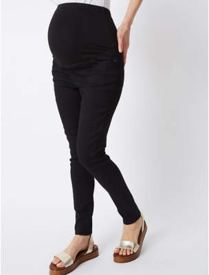 George Maternity Black Over Bump Skinny Jeans