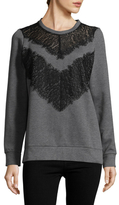 French Connection Misty Lace Sweater