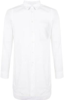 Black Comme Des Garçons Long-Sleeve Shirt