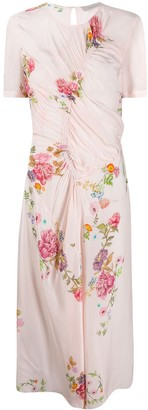 Preen Line Shae floral printed dress