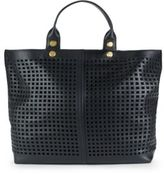 Reed Krakoff Geometric Cutout Leather Tote