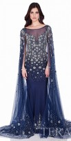 Terani Couture Starry Night Beaded Evening Gown