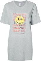 Rosie Assoulin smiley face t-shirt - women - Cotton - XS