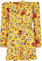 **Printed Bardot Playsuit by Glamorous Tall