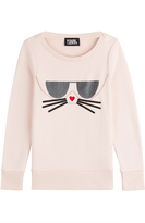 Karl Lagerfeld Sweatshirt with Cotton
