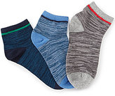 Class Club 3-Pack Space-dyed Quarter Socks
