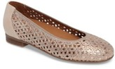 ara Women's Stephanie Perforated Ballet Flat