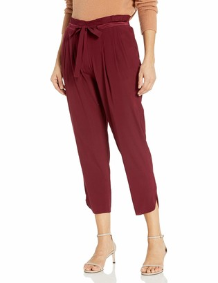 Ramy Brook Women's Allyn Silk Drawstring Waist Pant