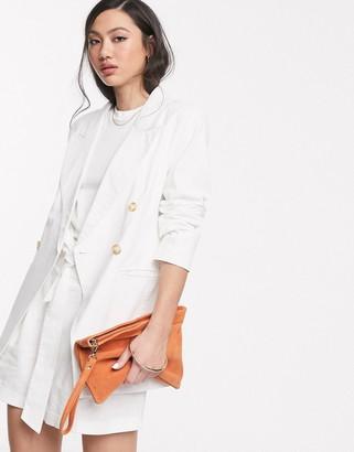 ASOS DESIGN ultimate linen suit blazer