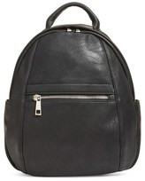 BP Faux Leather Backpack - Black
