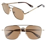 Givenchy Men's 7033/s 58Mm Sunglasses - Gold