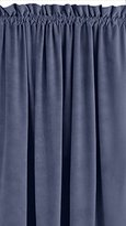 Veratex Made in the USA 100% Cotton Velvet Rod Pocket Window Panel, 108-Inch, Juniper by by