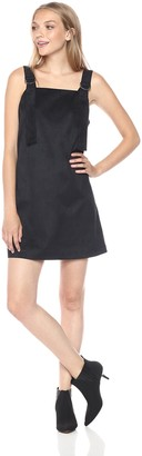 Kensie Women's Stretch Suede Pinup Dress